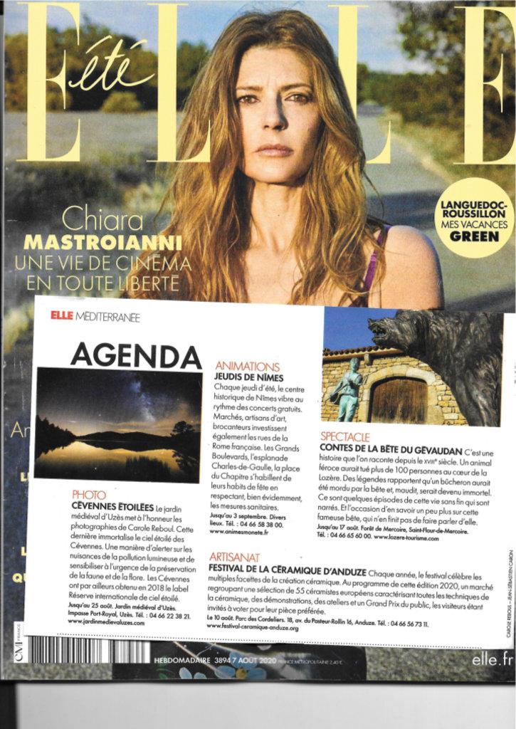 article carole reboul revue ELLE