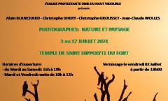 Exposition photos St Hippolyte du Fort